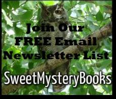 Sweet Mystery Books newsletter sign up button